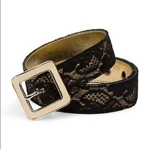 Lace and gold Guess belt